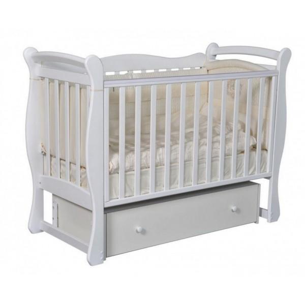 Кровать детская Антел Джулия 1, белый