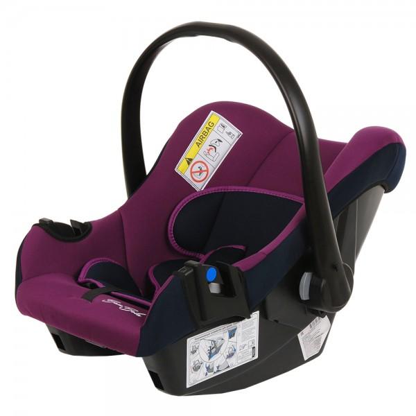 Автокресло Bambola Nautilus 0-13 кг Фиолетовый/Синий
