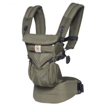 Рюкзак-Кенгуру Ergobaby Omni 360, Cool Air Mesh Khaki Green