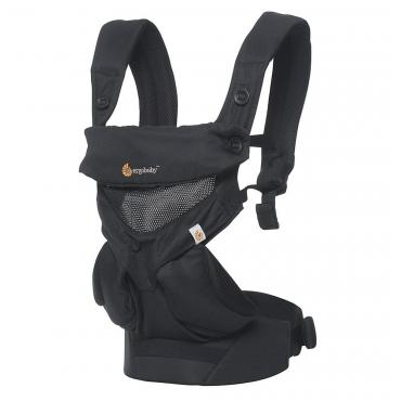 Рюкзак-Кенгуру Ergobaby 360, Cool Air Mesh Onyx Black