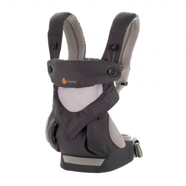 Рюкзак-Кенгуру Ergobaby 360, Carbon Grey