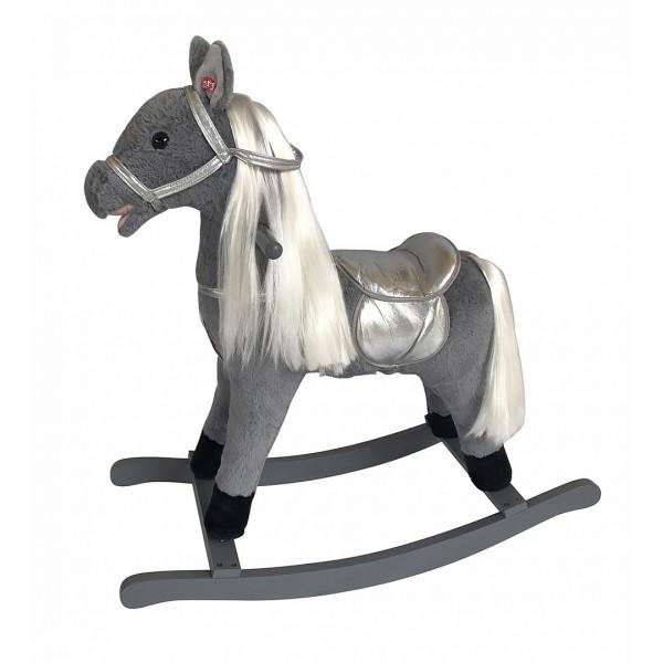 Качалка-лошадка Pituso, Серый