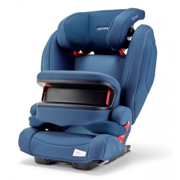Автокресло Recaro Monza Nova IS SeatFix Prime Sky Blue (9-36кг) 9м+