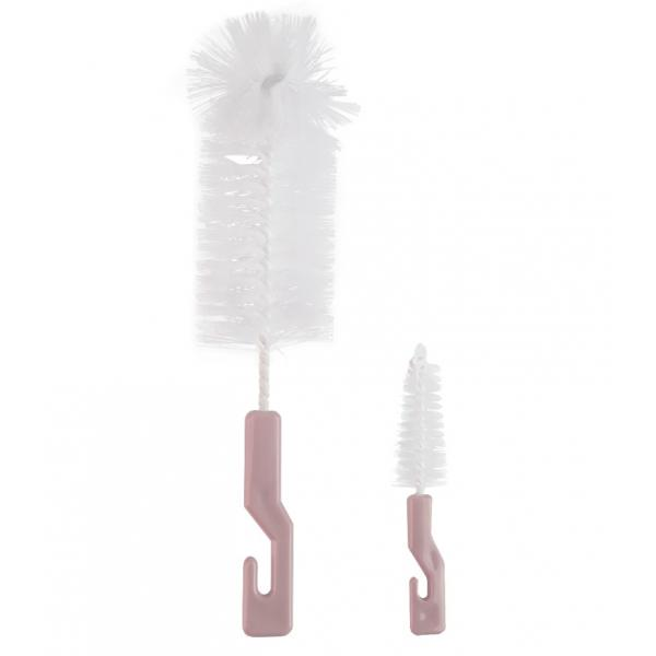 Ершик Happy Baby для бутылочек и сосок BOTTLE AND NIPPLE BRUSH, Lilac