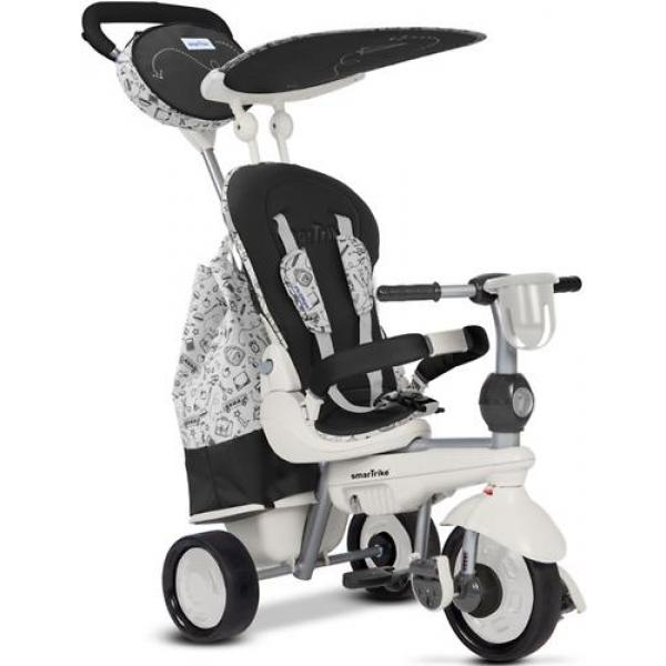Велосипед SmarTrike 5в1 Dazzle/Splash Black White