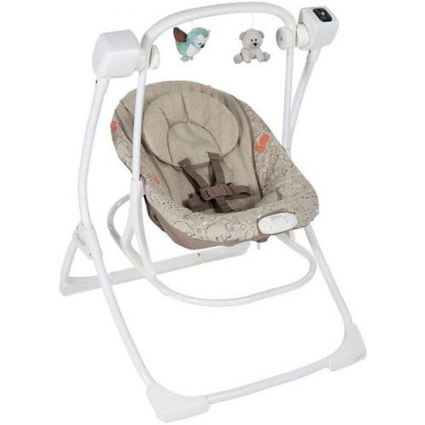 Электрокачеля Graco Cozy Duet, Woodland Walk