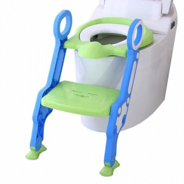 Pituso сиденье для унитаза с лесенкой и ручками, Зеленый