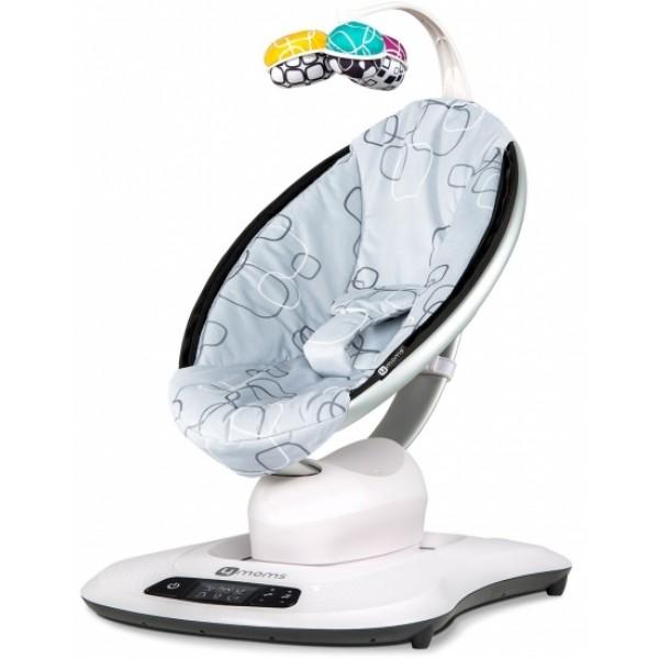 Кресло-качалка 4moms MamaRoo4 Silver Plush