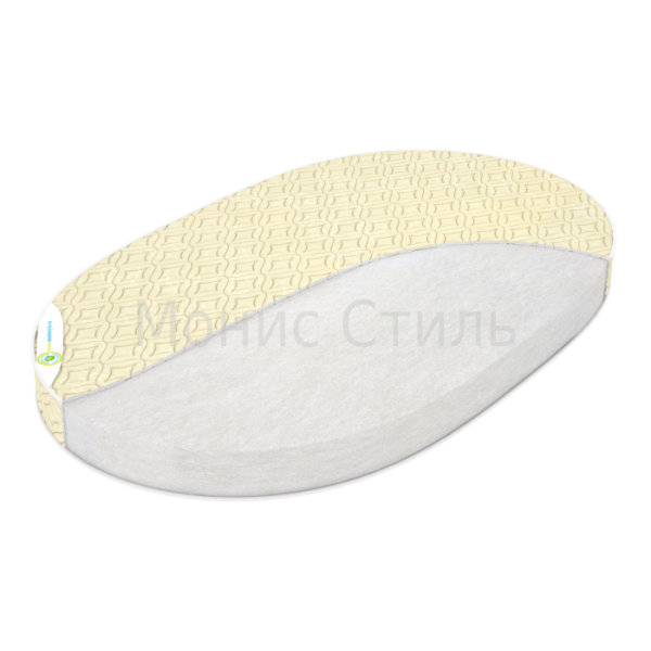 Детский матрас Монис Стиль СТАНДАРТ-3000 Овал 125х75х8 см