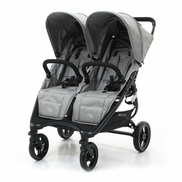 Коляска для двойни Valco Baby Snap Duo, Серый (Cool Grey)