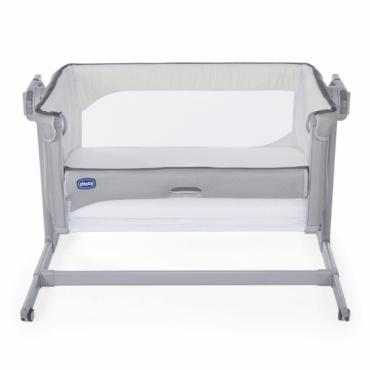 Кроватка-манеж Chicco Next2Me Magic Cool Grey 0м+