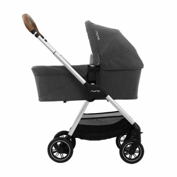 Люлька Nuna Triv Chrome carry cot, Caviar