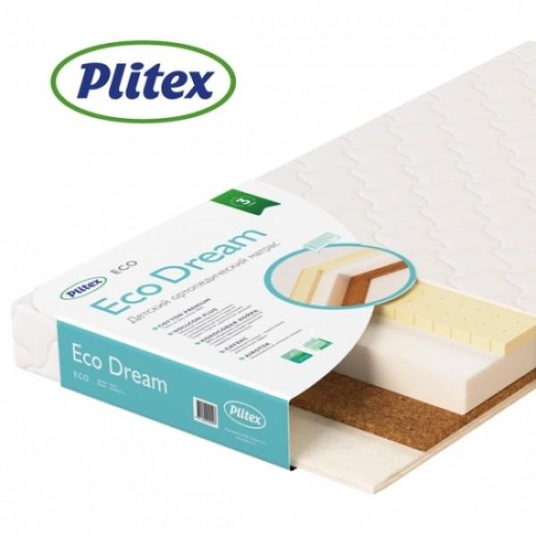 Детский матрас Plitex Eco Dream 120х60х9 см