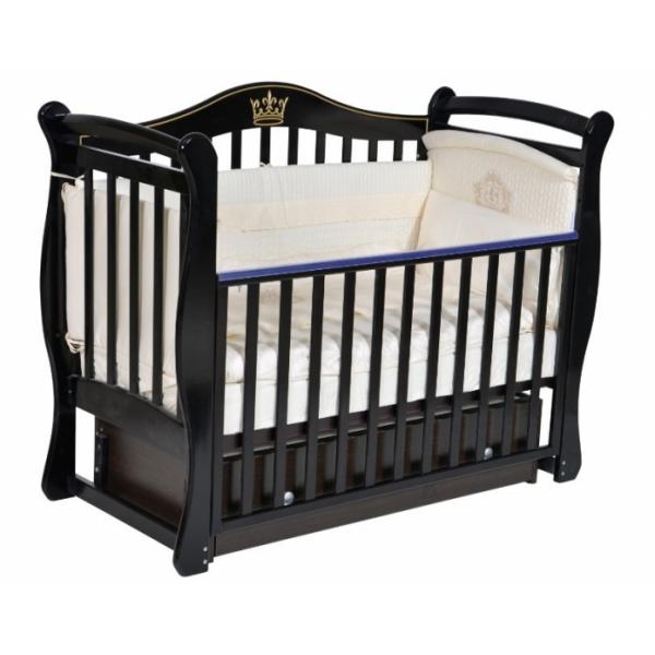 Кровать детская Антел Джулия 11, шоколад