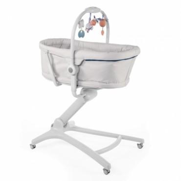 Кроватка-стульчик Chicco Baby Hug 4в1 Glacial