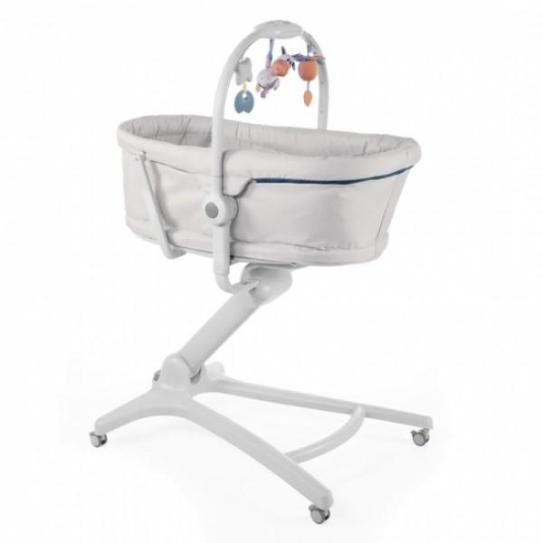 Chicco Кроватка-стульчик Baby Hug 4-в-1 Glacial