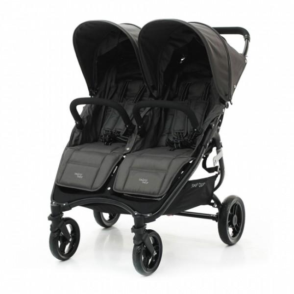 Коляска для двойни Valco Baby Snap Duo, Графитовый (Dove Grey)