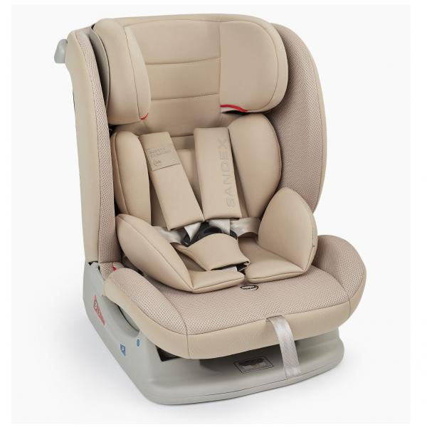 Автокресло Happy Baby Sandex (0-36 кг) Beige