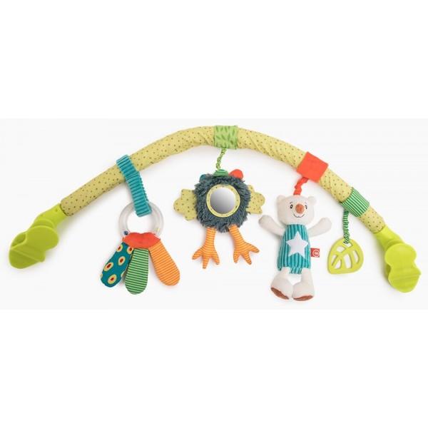 Дуга с игрушками Happy Baby Весёлая Горка