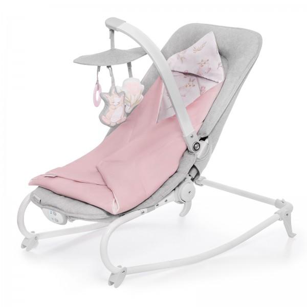 Кресло-качалка Kinderkraft FELIO Peony Rose 2020