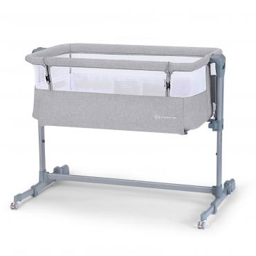 Колыбель Kinderkraft NESTE AIR Grey Light Melange