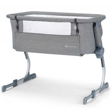 Колыбель Kinderkraft UNO UP Grey Melange