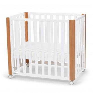 Кровать детская Kinderkraft KOYA White (матрас в комплекте)