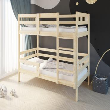 Кровать Подростковая двухъярусная Hanna 2 Натуральный