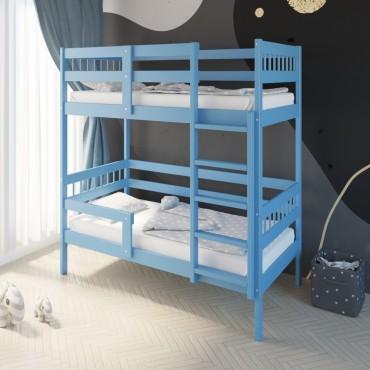 Кровать Подростковая двухъярусная Hanna 2 Индиго