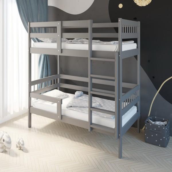 Кровать Подростковая двухъярусная Hanna 2 Графит