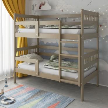 Кровать Подростковая двухъярусная Hanna 2 Капучино