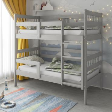 Кровать Подростковая двухъярусная Hanna 2 Серый