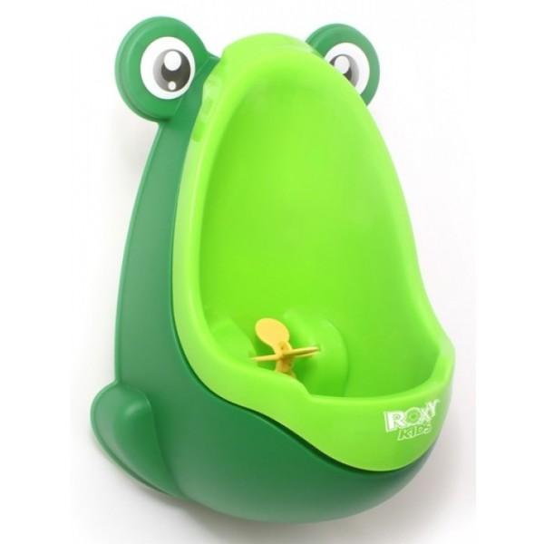Писсуар Roxy Kids на присоске для мальчиков Лягушка Зеленый